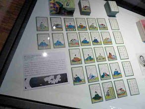 Photo: Modern cards for the Japanese Game of 100 Poets, based on poems collected by Teika in 1235. Still popular today