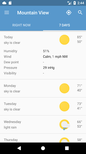 Weather Now v2.2.1 [Unlocked]