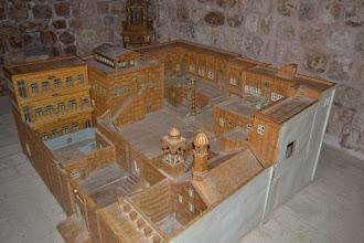 Photo: Model of Mor Gabriel monastery in Midyat