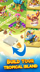 Tropicats: Free Match 3 on a Cats Tropical Island APK screenshot thumbnail 3