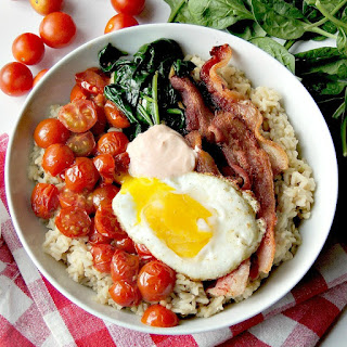 Brown Rice BLT Bowls Recipe