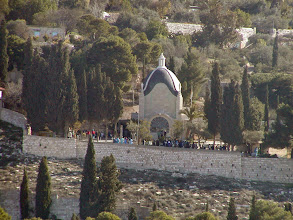 Photo: The Dominus Flevit  Chapel on the Mount of Olives.  The Garden of Gethsemane is nearby.