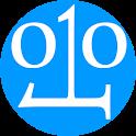 Digital electronics calculator icon