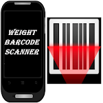 Weight Barcode Scanner Icon