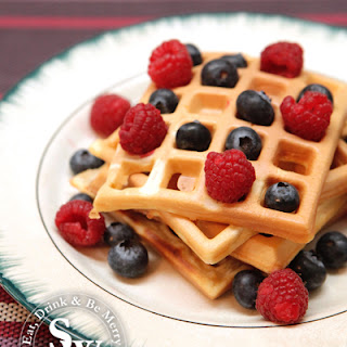 Easy Breakfast Waffles.