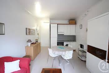 Appartement meublé 2 pièces 37,21 m2