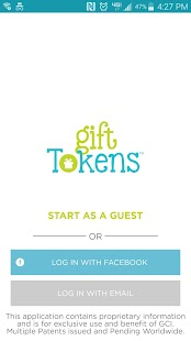 Gift Tokens- screenshot thumbnail