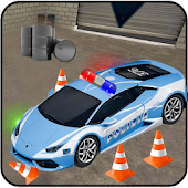 Police Car Parking 3D Simulator NYPD Driving