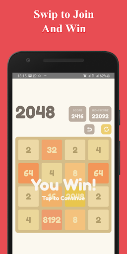 Number Puzzle:  2048 Puzzle Game 2.5 screenshots 8