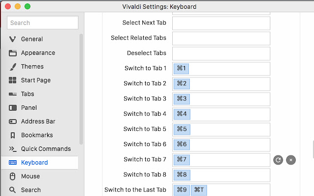 Fast new tabs (for Vivaldi)