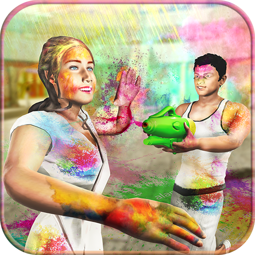 Holi Colours Festival: Play Street Paint Shooting (game)