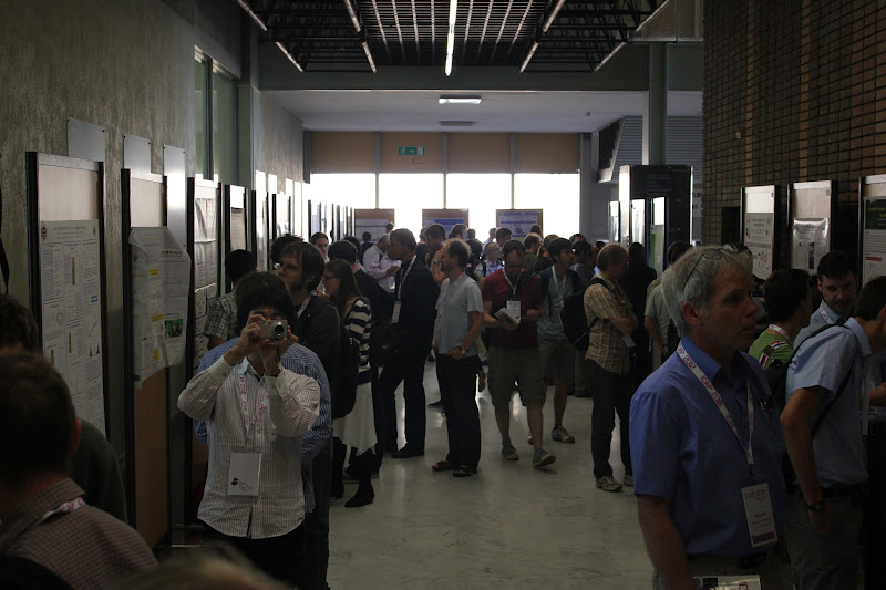 Photo: Poster session time