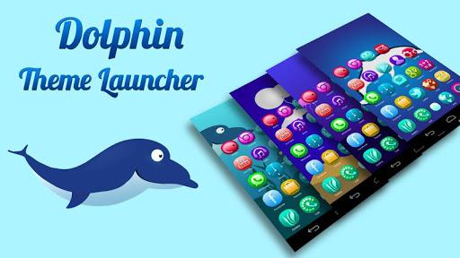 Dolphin Mega Launcher Theme
