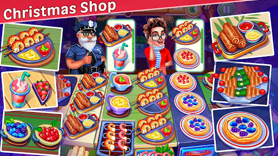 Christmas Cooking: Crazy Restaurant Mod Apk (Unlimited Money) 3