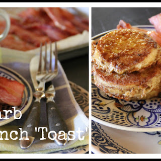 {Low Carb} Cinnamon French Toast with Bacon