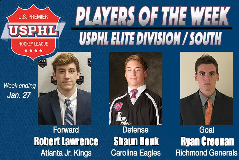 Elite Junior Hockey Prospect Shaun Houk Shines in Rookie Hockey Season in USPHL | Elite Junior Profiles