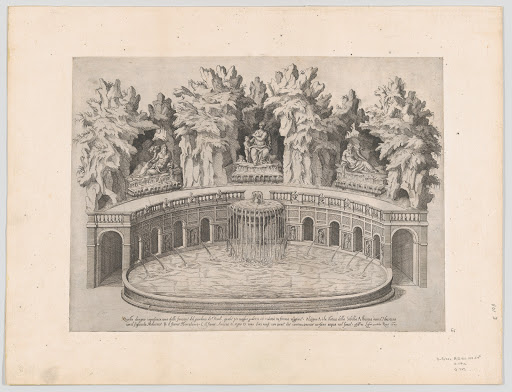 Speculum Romanae Magnificentiae: Fountain and Gardens of the Villa d'Este at Tivoli