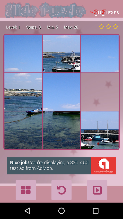 Slide Puzzle Schiebepuzzle- screenshot