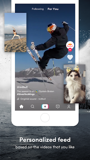 Screenshot for TikTok in United States Play Store