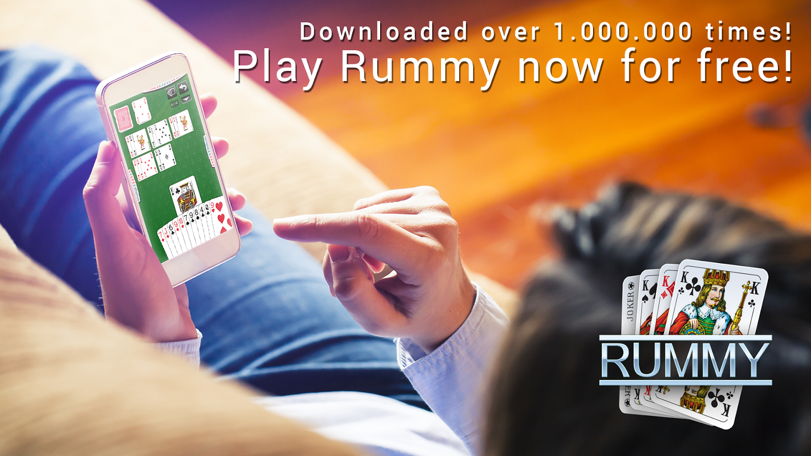Rummy - free card game- screenshot