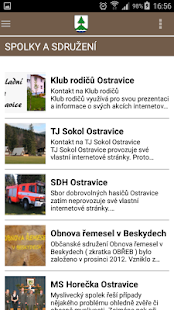 Obec Ostravice- screenshot thumbnail
