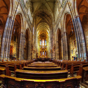St.Vitus by Jan Helge - Buildings & Architecture Other Interior ( interior, st.vitus, church, prague, religious,  )