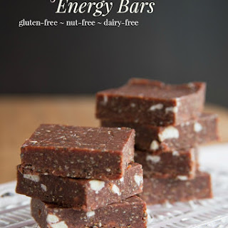 No-Bake Cherry Lime Chia Energy Bars