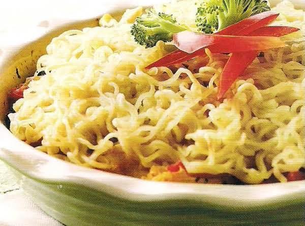 Chicken Noodle Strudel