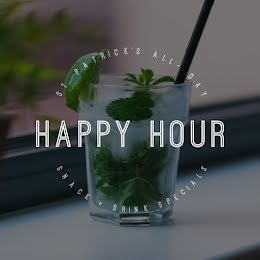 Happy Hour Specials - St. Patrick's Day item