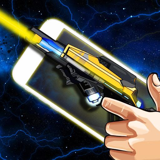 模拟のレーザー武器シミュレータジョーク LOGO-記事Game