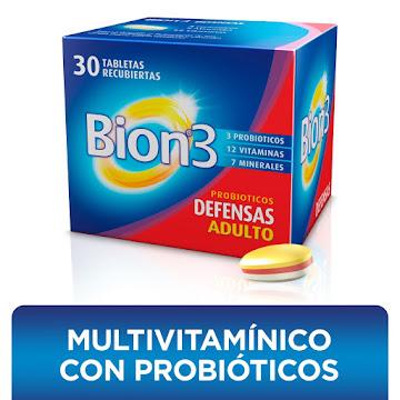 BION3 TABLETAS CAJA   X30TAB. MERCK MULTIVITAMÍNICO