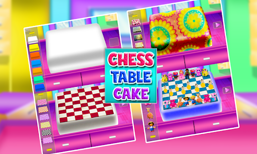 Chess Table Cake Maker Game! DIY Cooking Chef - náhled