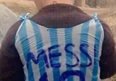 Messi va rencontrer son jeune fan au sachet en plastique