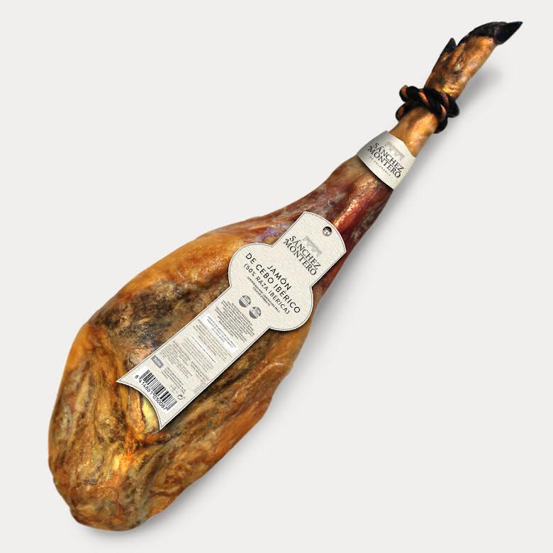 Lufttorkad skinka, Jamon Iberico Cebo med ben