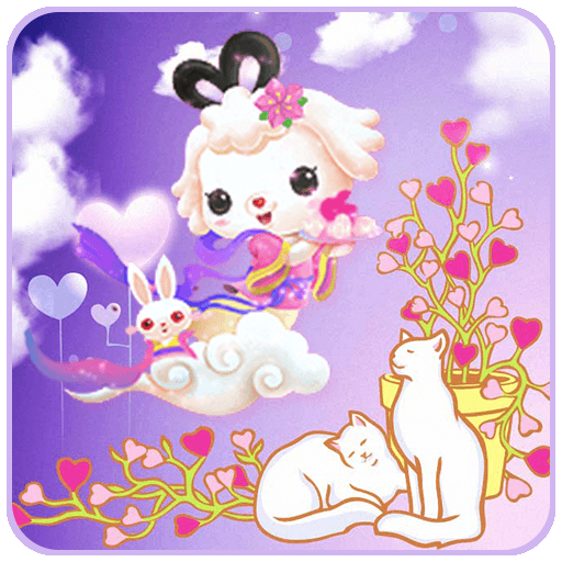 粉紅兔子小貓愛 漫畫 App LOGO-APP開箱王
