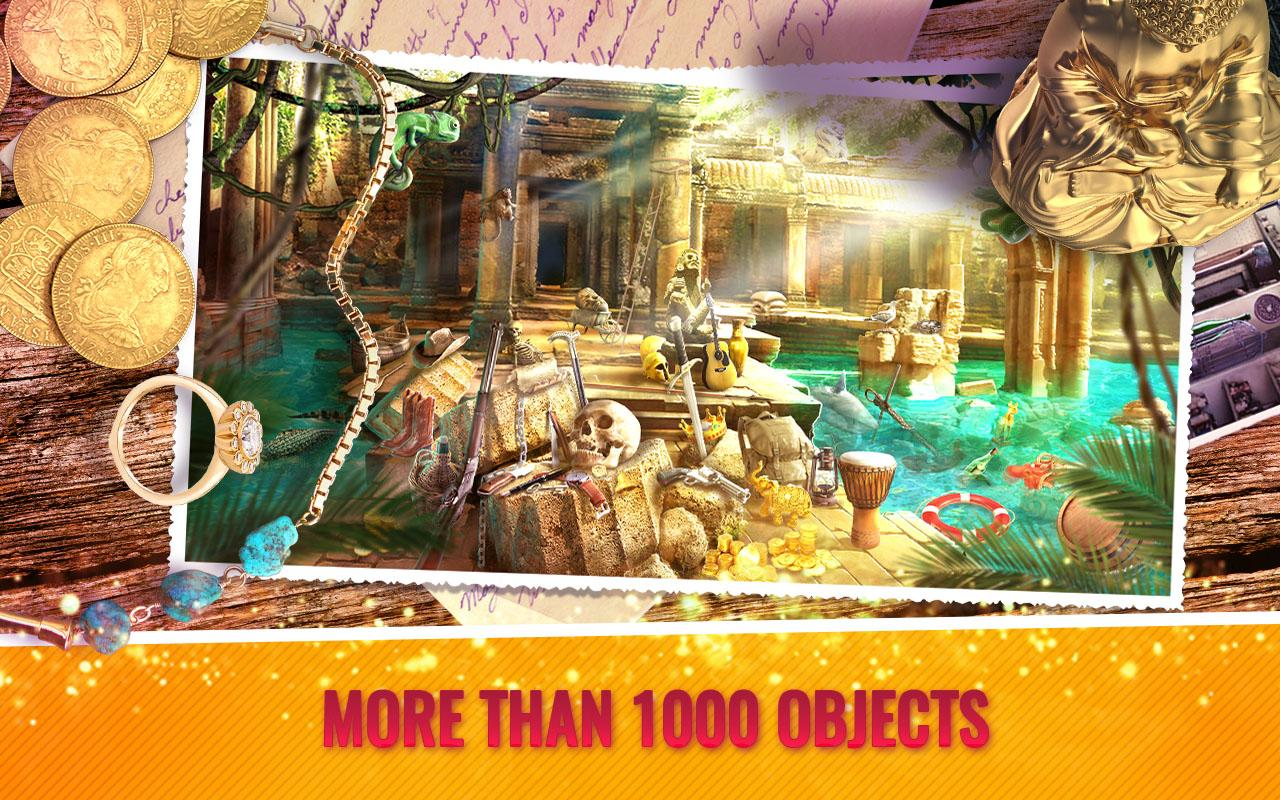 Treasure Hunt Hidden Objects Adventure Game- screenshot