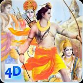 4D Shri Ram Live Wallpaper
