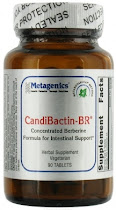Metagenics CandiBactin-BR Herbal Supplement - 90 Tablets