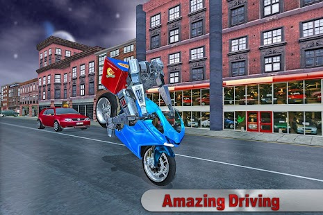 Moto Transform Pizza Delivery screenshot