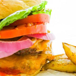 Double Cheddar Jalapeno Burger