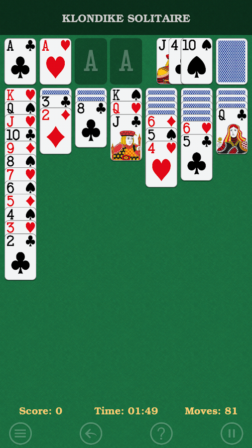 Solitaire Klondike- screenshot