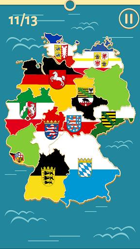 Deutsche Bundesländer Quiz