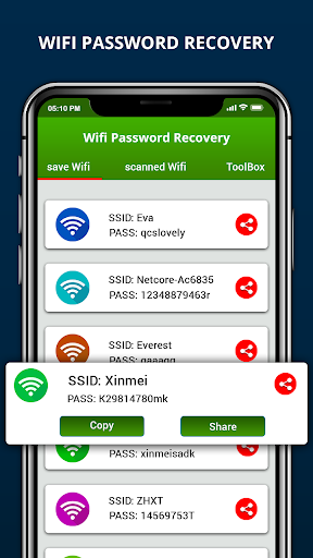 Wifi Password Recovery & Internet Speed Test screenshot 13