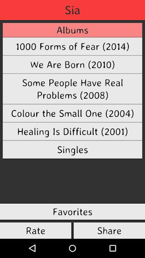 Sia Lyrics