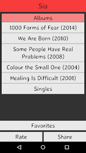 Sia Lyrics screenshot 0
