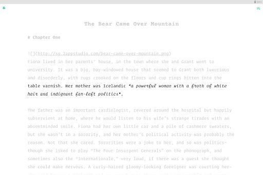 JotterPad - Writer, Screenplay, Novel 12.10.3-pi Screenshots 9