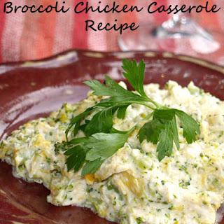 Broccoli Chicken Casserole.