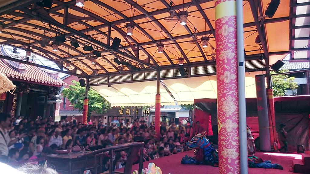 國立傳統藝術中心戲台