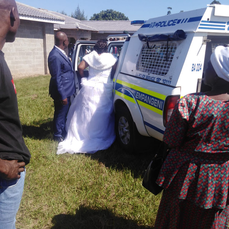 WATCH | KZN newlyweds arrested for breaching Covid-19 regulations - TimesLIVE