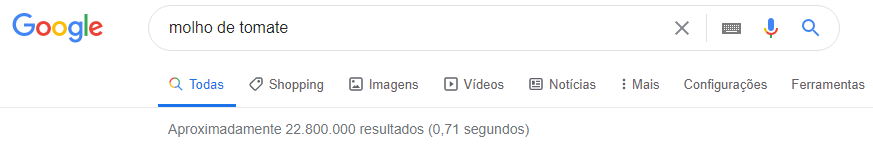 páginas do google